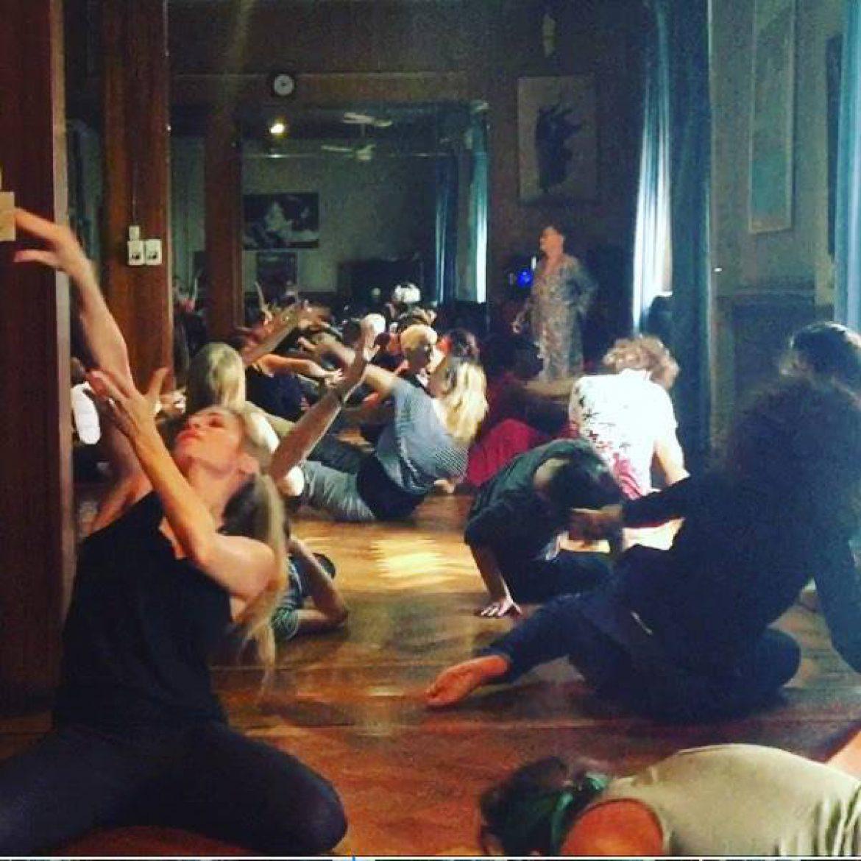 Danzaterapia Maria Fux en Europa
